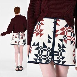 NWT Isabel Marant Lickly Mini Skirt (100% cotton)